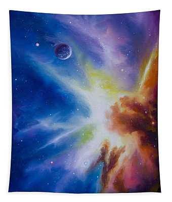Origin Nebula Tapestry