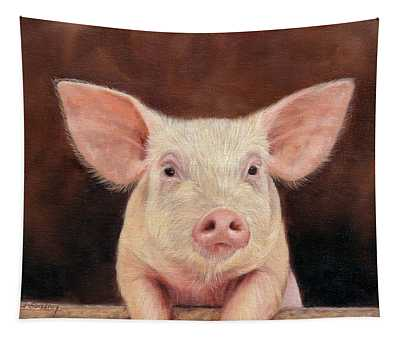 Pig Tapestry