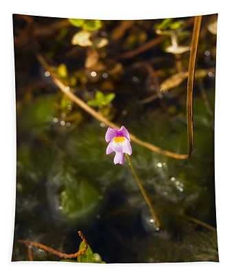Purple Bladderwort Tapestry