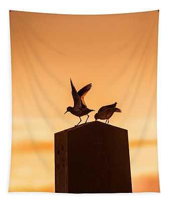 Redshank Tringa Totanus, Flatey Island Tapestry