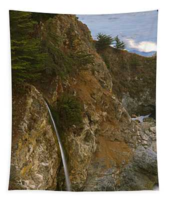Rocks On The Beach, Mcway Falls, Julia Tapestry