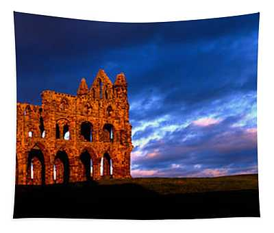 Ruins Of A Church, Whitby Abbey Tapestry