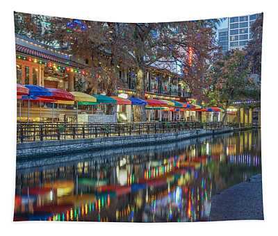 San Antonio Riverwalk Tapestry