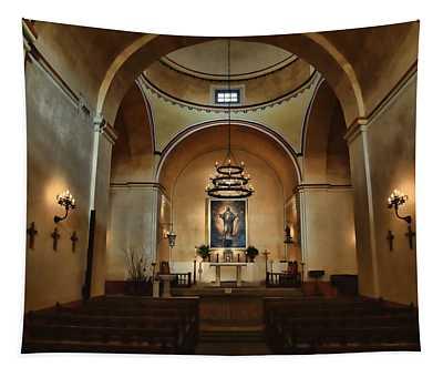 Sanctuary - Mission Concepcion Tapestry