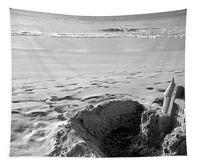 Sandcastle On The Beach, Hapuna Beach Tapestry