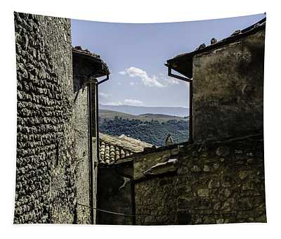 Santo Stefano Di Sessanio - Italy  Tapestry