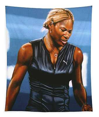 Serena Williams Tapestry