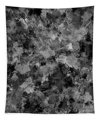 Shades Of Gray Tapestry