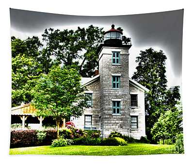 Sodus Lighthouse Tapestry