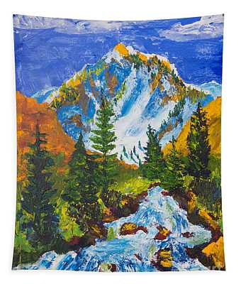 Taylor Canyon Run-off Tapestry