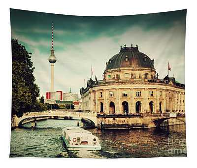 The Bode Museum Berlin Germany Tapestry
