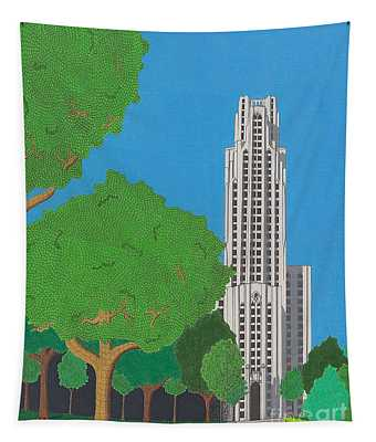 The Cathedral Of Learning Tapestry