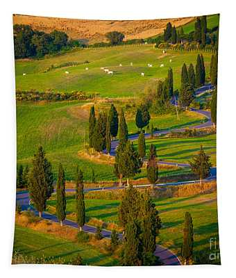 Tuscan Road Tapestry
