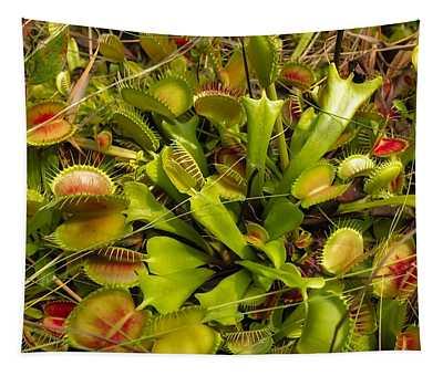 Venus Flytrap Tapestry