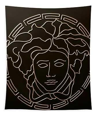 Versace Medusa Head Tapestry