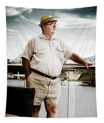 Wealthy Retired Man Tapestry