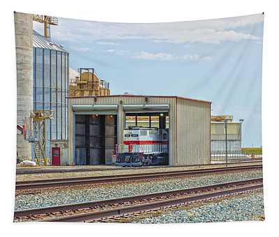 Foster Farms Locomotives Tapestry