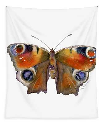 10 Peacock Butterfly Tapestry