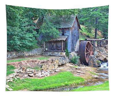 Sixes Mill On Dukes Creek Tapestry