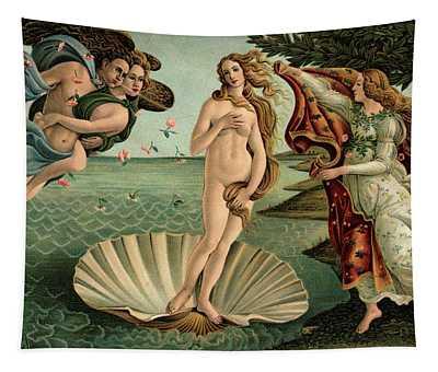 1400s 1486 Painting Sandro Botticelli Tapestry