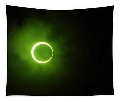 15 January 2010 Solar Eclipse Maldives Tapestry