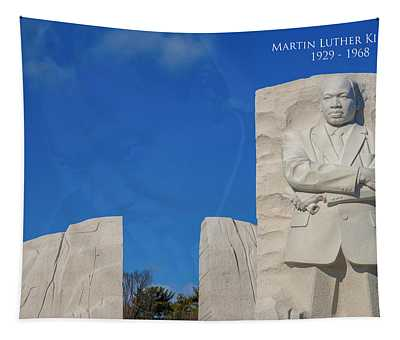 Martin Luther King Jr Memorial Tapestry