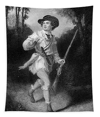 1700s 1770s A Morgans Rifleman Wearing Tapestry