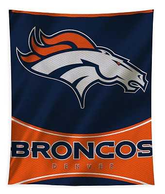 Denver Broncos Uniform Tapestry