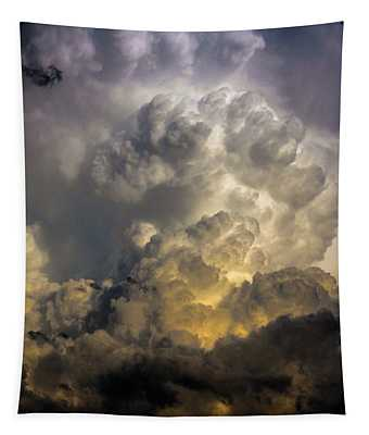 Late Afternoon Nebraska Thunderstorms Tapestry