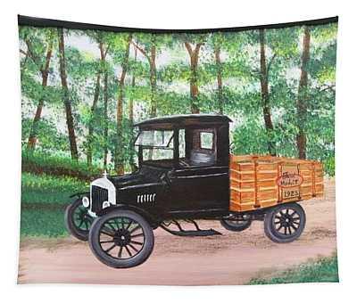 1925 Model T Ford Tapestry