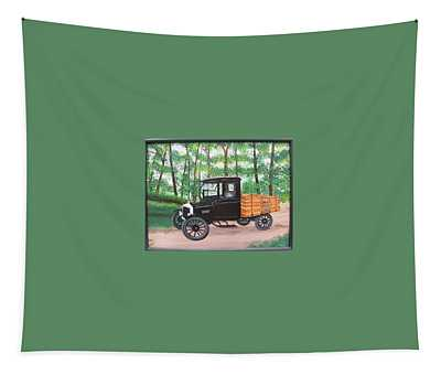 1925 Model T Ford Tapestry