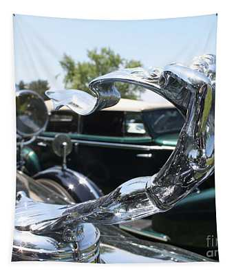 1930 Cadillac V-16 Imperial Limousine Hood Ornament Tapestry