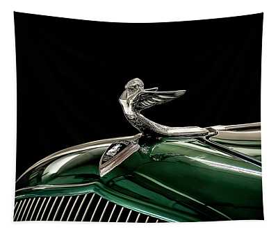 1933 Plymouth Mascot Tapestry