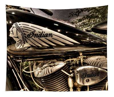 1934 Indian Chief Tapestry