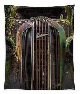 1936 Pontiac Head On Tapestry