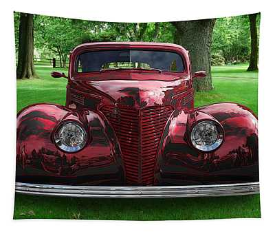 1938 Ford Coupe Tapestry