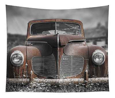 1940 Desoto Deluxe With Spot Color Tapestry
