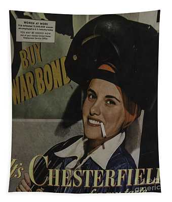 1940's Chesterfield Add Tapestry