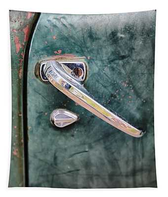 1950 Classic Chevy Pickup Door Handle Tapestry