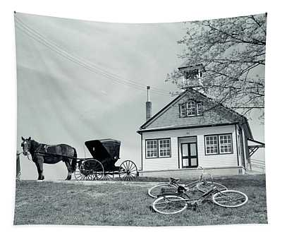 1950s Amish One-room Schoolhouse At Top Tapestry
