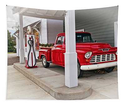 1955 Chevy 3100 Truck Tapestry