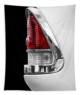 1955 Chevy Rear Light Detail Tapestry