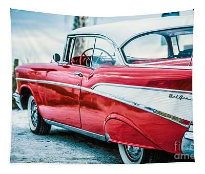 1957 Chevy Bel Air Tapestry