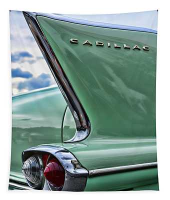 1958 Cadillac It's All In The Fin. Tapestry