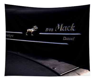 1958 Mack B-75 Custom Pickup Tapestry