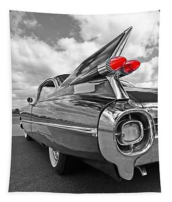 1959 Cadillac Tail Fins Tapestry