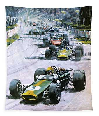 1967 French Grand Prix Tapestry