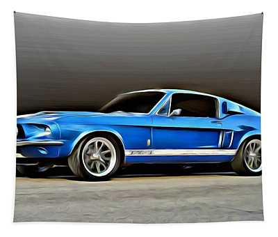 1967 Shelby Mustang Gt500 Tapestry