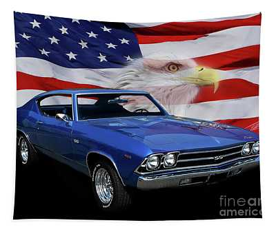 1969 Chevelle Tribute Tapestry