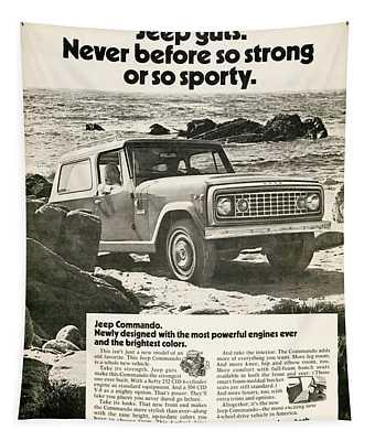 1972 Jeep Commando Tapestry